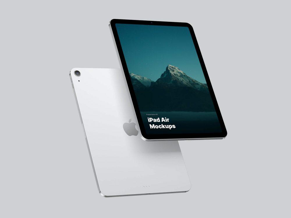 iPad Air Free Mockups