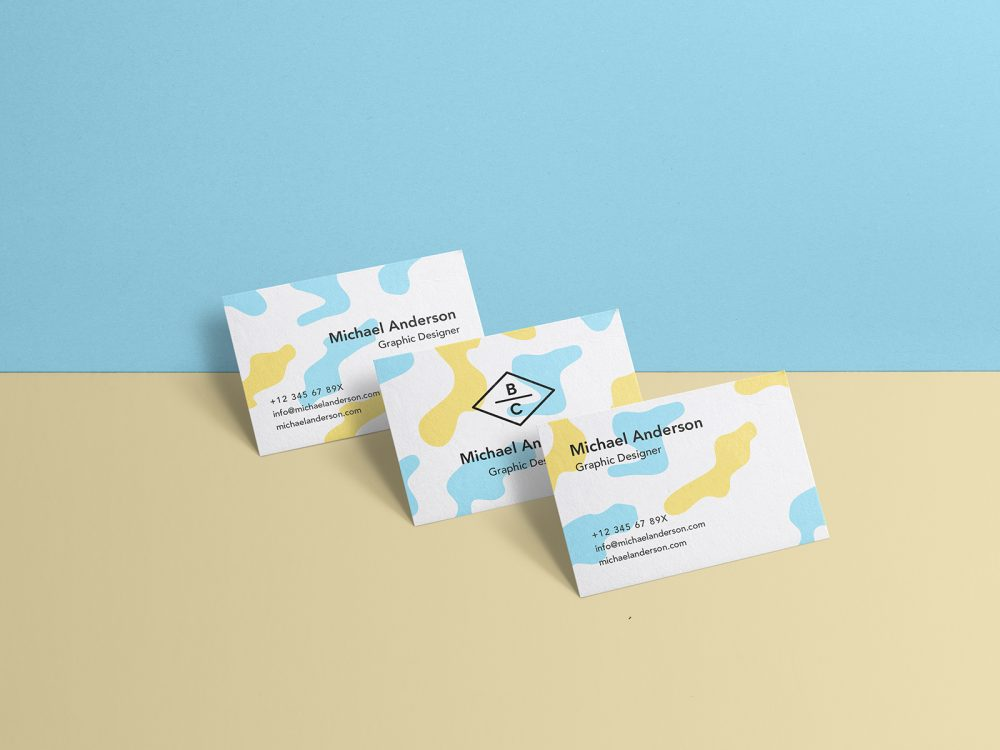 Business Card PSD Mock-Up