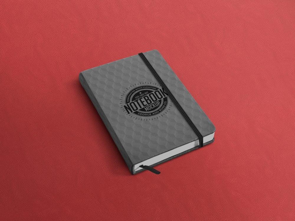 Notebook Free Mockup PSD