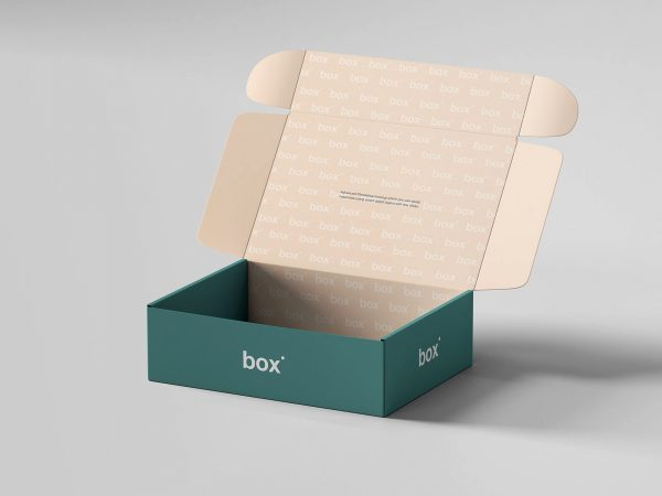 Pinch Lock Box Free Mockup