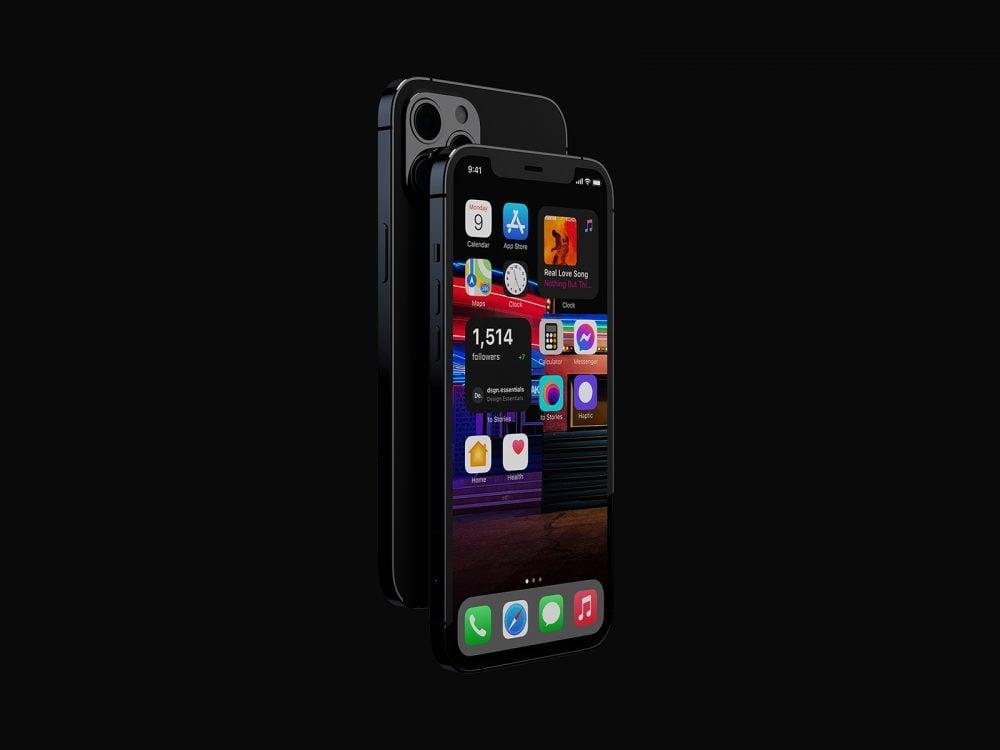Apple iPhone 12 Pro Free Mockup