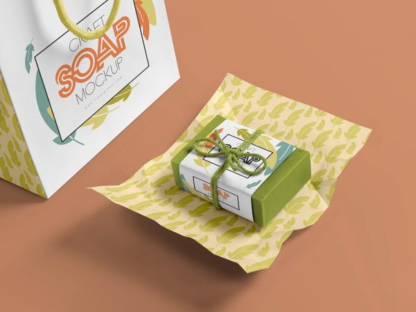 Craft Soap Bar Free Mockup