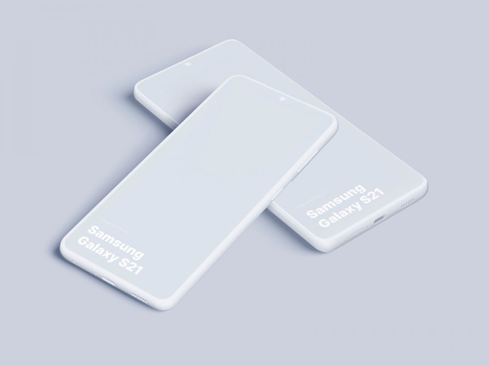 Galaxy S21 Free UI/UX Mockup
