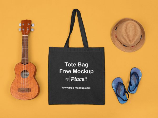 Tote Bag Placeit Free Mockup