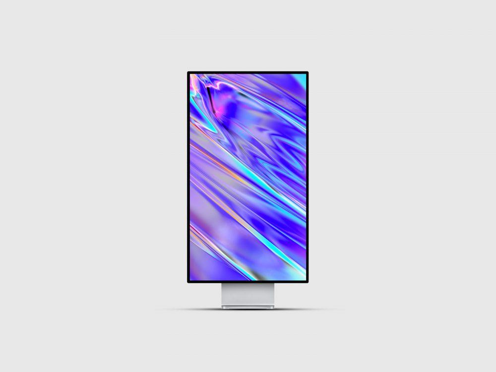 Apple Pro Display XDR Free Mockup