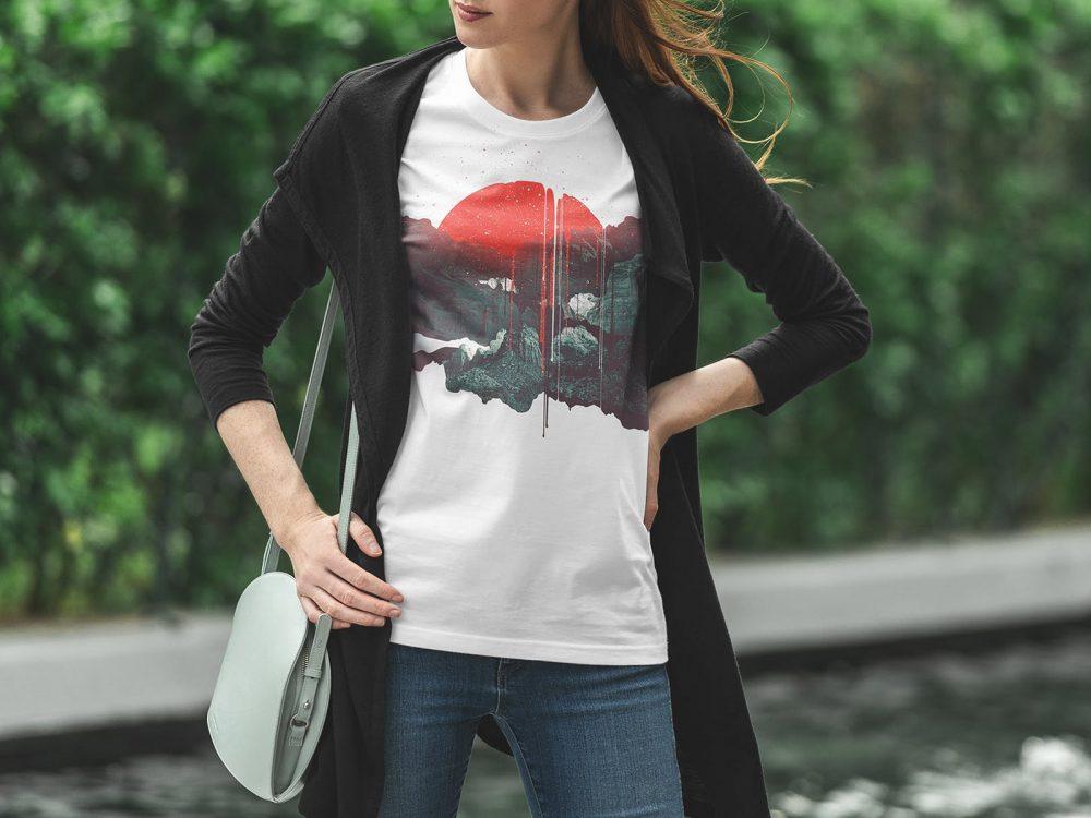 Urban T-Shirt Free Mockup
