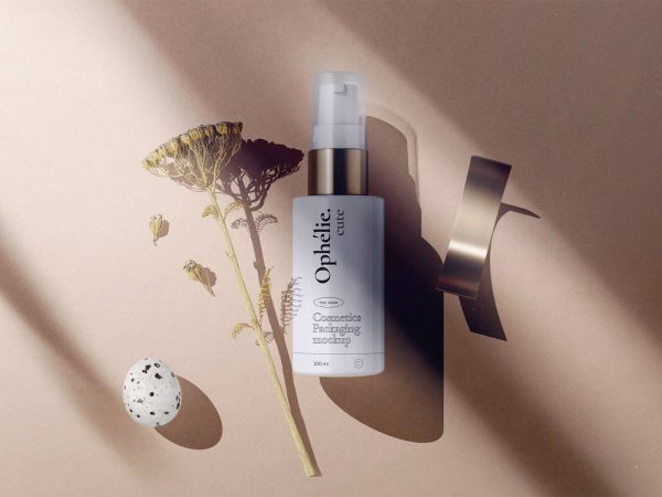 Cosmetic Spray Bottle Mockup