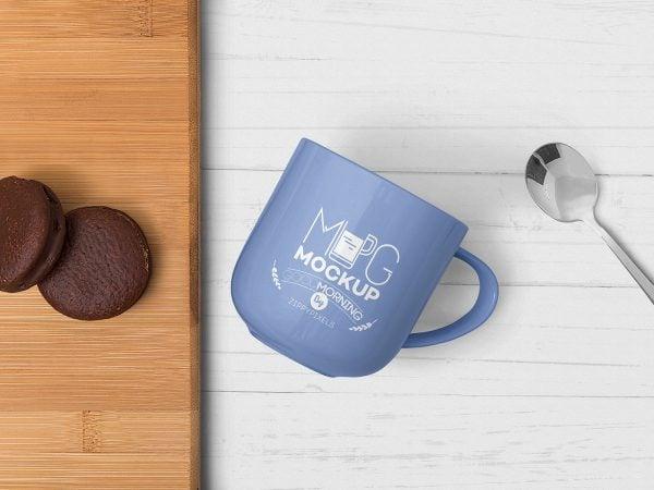 Mug Free PSD Mockup