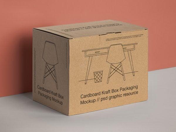 Product Box Packaging Mockup